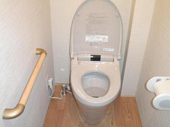 洋式トイレになり、使い勝手がよくなりました。