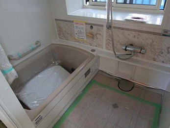 明るく綺麗な浴室になり驚いています。快適な使い心地です。