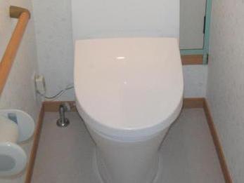 お掃除がしやすく、綺麗なトイレを保てるのでうれしいです。