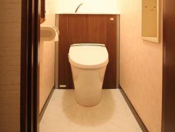 素敵なトイレになり嬉しいです!ありがとうございました。