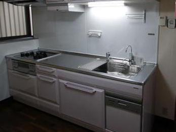 新しくなったキッチンでお嫁さんとお料理するのが楽しみです。