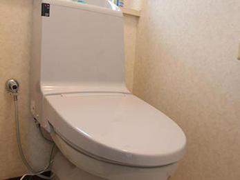 新しいトイレに変わって脇のリモコンがなくなったのですっきりしました。