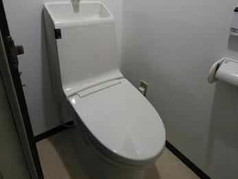 トイレの鍵がかかるようになったので、娘がとても喜んでいました。