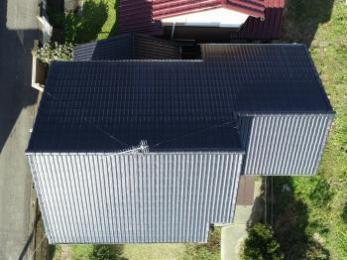 シンプル工法で棟を強化、さらに屋根塗装で耐久性アップ